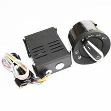 ELISHASTAR Auto Auto Scheinwerfer Sensor Scheinwerfer Schalter + Control Module für V W T5 T 5,1 Transporter 2003 2015 5ND941431B