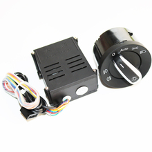 ELISHASTAR Car Auto Headlight Sensor HeadLamp Switch + Control Module for V W T5 T5.1 Transporter 2003 2015 5ND941431B