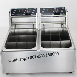 Hot Pot Food double tank Taiwanese Kanto Cooking Machine Snack Food Machine Electric 12 Grid Oden Machine/ /Kanto Cook Machine