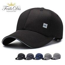 купить [FEILEDIS]Black Cap Solid Color Baseball Cap Snapback Caps Casquette Hats Fitted Casual Gorras Hip Hop Dad Hats JMM-32 по цене 458.69 рублей