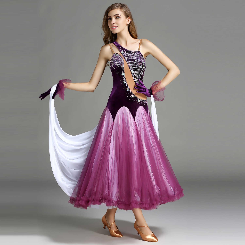 Мэй YU MY746 современный танцевальный костюм для женщин леди взрослый вальцинг Танго танцевальное Платье Бальный костюм вечернее платье с перчатками