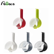 1pcs Seal Pour Food Storage Bag Clip Food Sealing Clip Effect Clamp With Large Discharge Nozzle For Storage Food Kitchen Tools