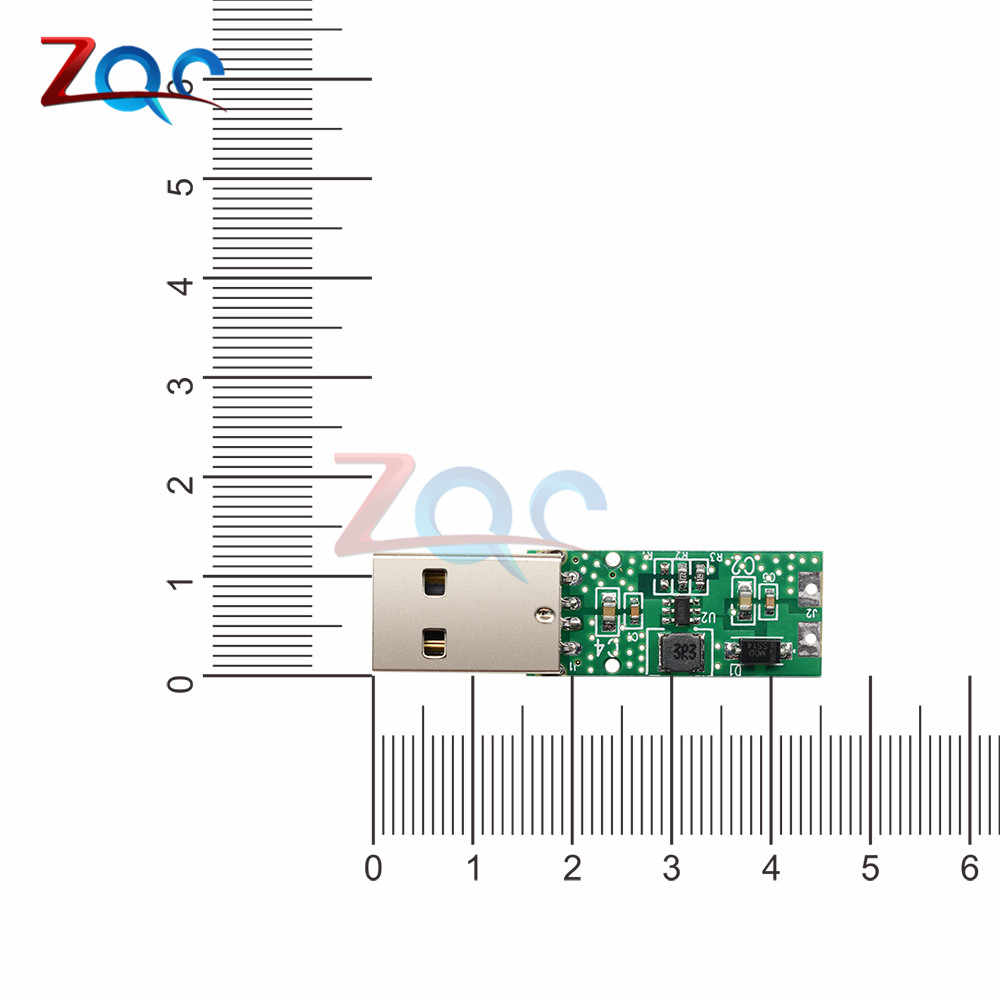 DC-DC 5V tot 12V 5W USB Step Up Voedingsmodule Boost Converter Voltage Board 4.2V -5.2V