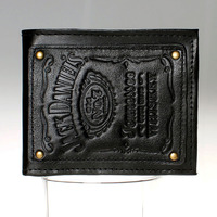 Jack Daniels Boys And Girls Students Personality Fashion Short Transverse Section 2 Fold Wallet DFT 1525