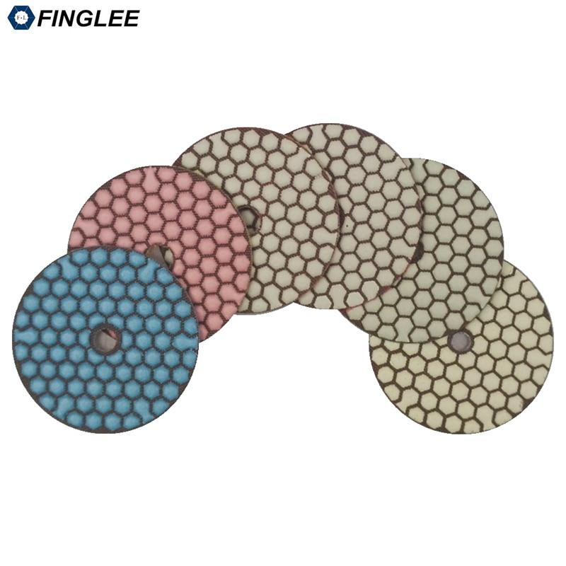 FINGLEE 6db / készlet, 3 hüvelyk, 4 hüvelyk 5 lépés száraz - Elektromos kéziszerszámok - Fénykép 3