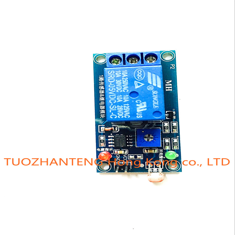 5v Light Photoswitch Sensor Switch Ldr Photoresistor Relay Module Circuit With Detection Photosensitive Board In Integrated Circuits From Electronic
