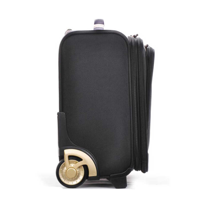 sélection premium e5c3c 8ae55 TRAVEL TALE 18 inch oxford valise cabine roulette suitcases with wheels  carry on luggage