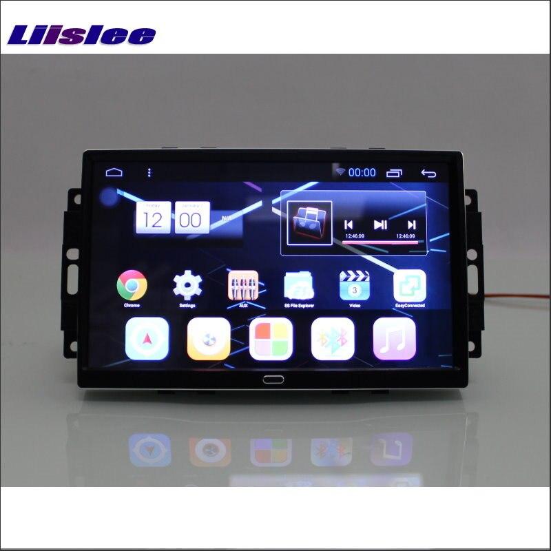 Liislee автомобиль Android 6.0 GPS nav навигации мультимедиа для Chrysler 300 300C Радио HD Экран аудио-видео без cd dvd плеер Системы
