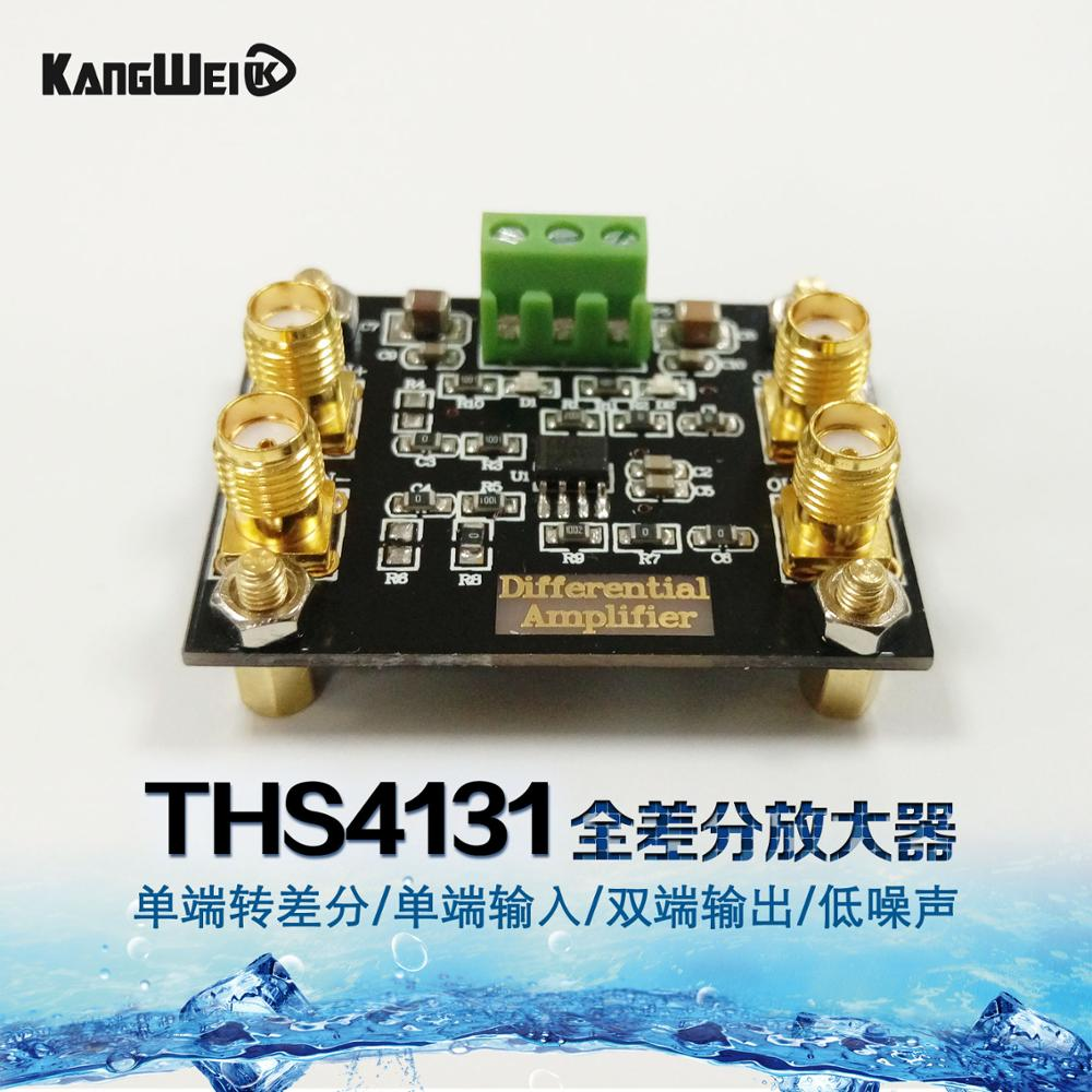 THS4131 fully differential amplifier module single end differential single end input dual output low noise