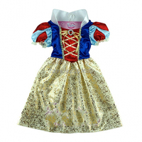 Kids Cosplay Costume Children Snow White Princess Dresses Perform Clothes