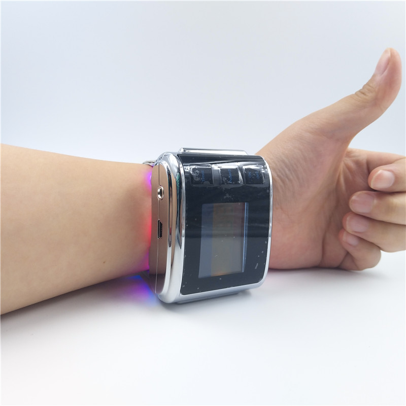 ATANG 2018 New Laser Acupuncture Health Watch Physical Therapy Machine for High Blood Pressure And Cardiovascular Laser Watch acupuncture physiotherapy device diabetic blood circulation model cardiovascular disease laser therapy