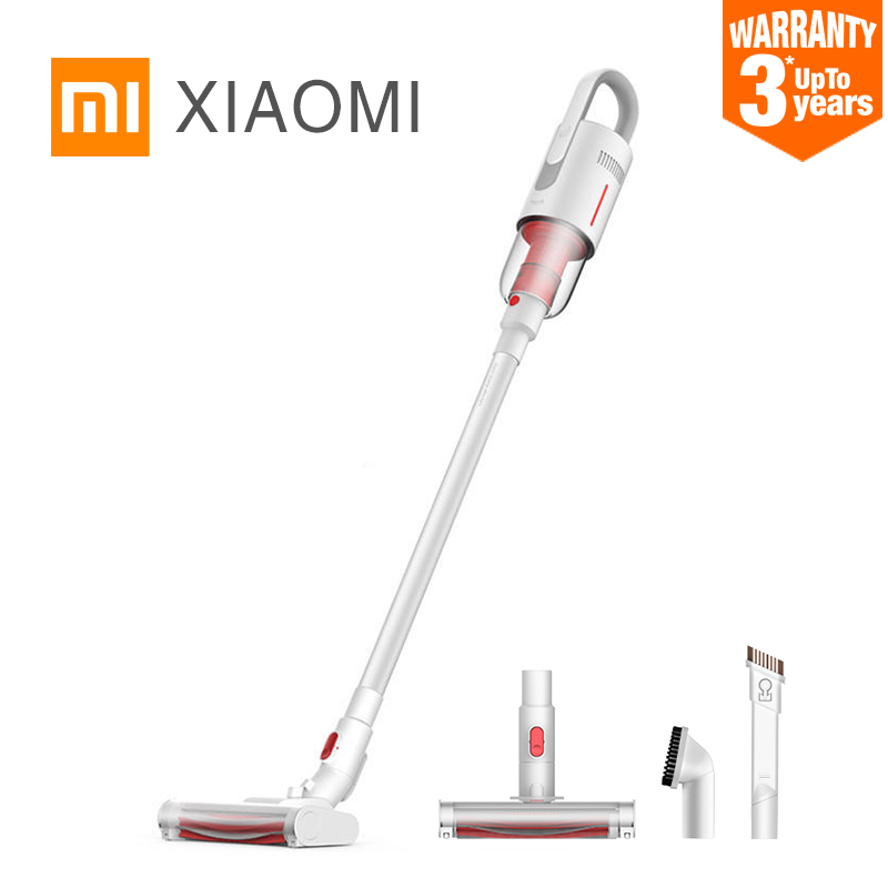 Xiaomi MIJIA Deerma VC20 aspiradora de mano para coche doméstico colector de polvo de bajo ruido aspirador doméstico cepillo multifuncional-in Aspiradoras from Electrodomésticos    1