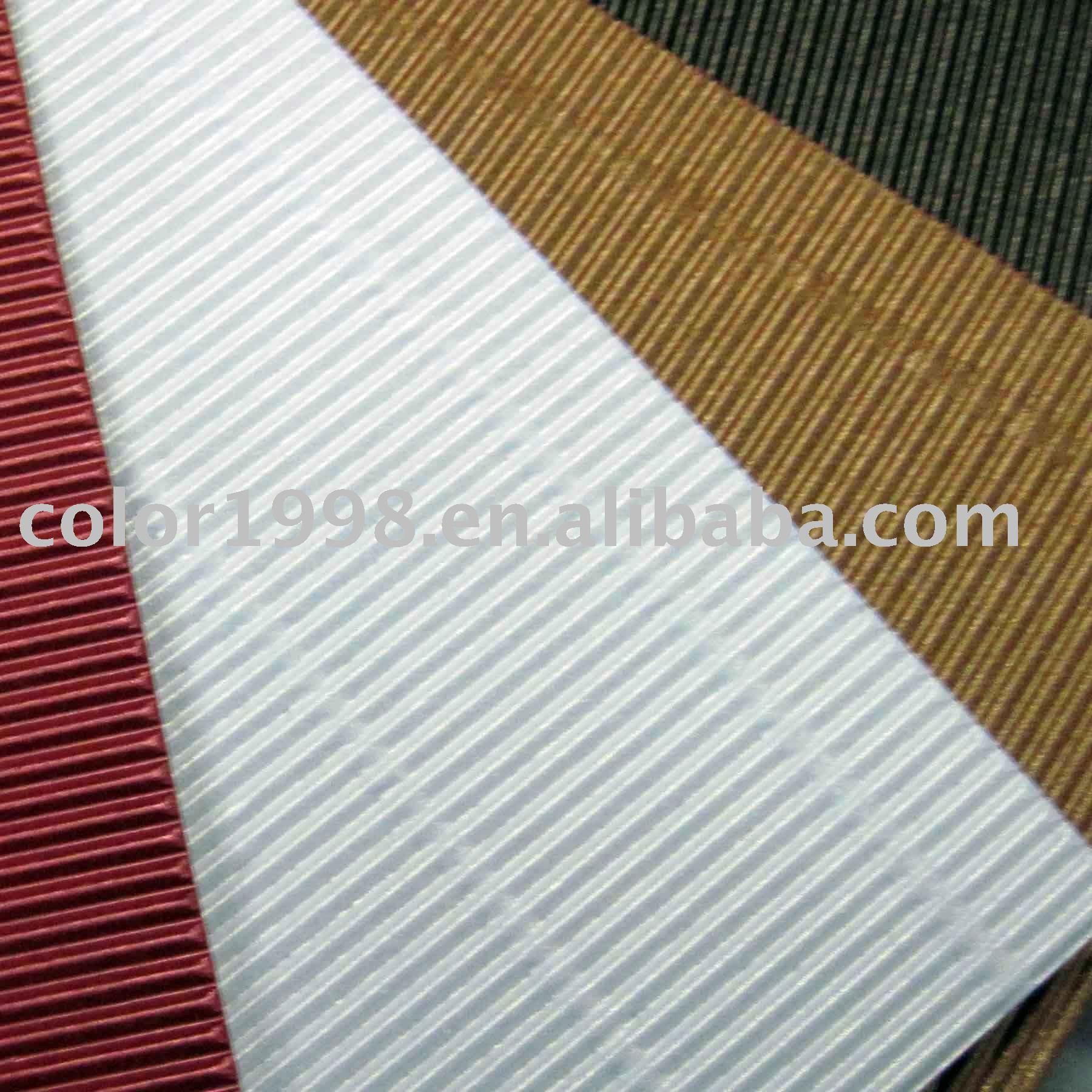 bristol board/color corrugated paper sheet/corrugated cardboard on ...