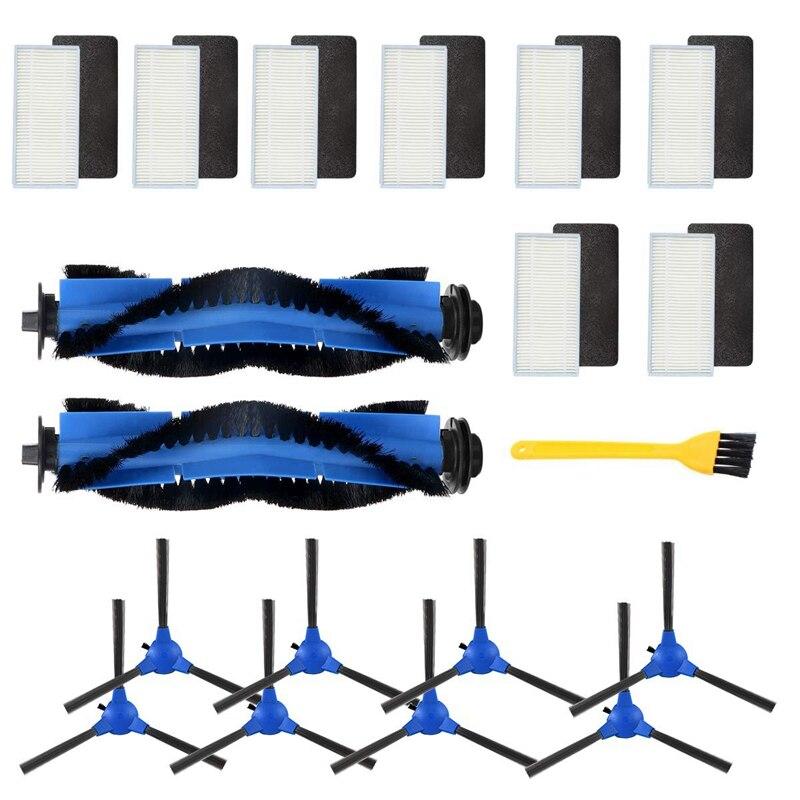 مجموعة ملحقات متوافقة مع Eufy Robovac 11 S, Robovac 30, Robovac 30C, Robovac 15C, ملحقات روبوتية مكنسة كهربائية 8X Fi