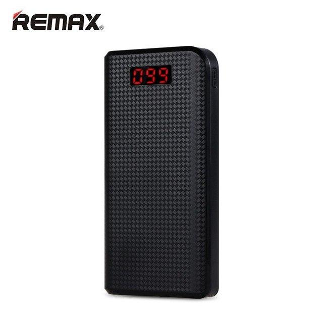 REMAX Proda Power Bank 30000 мАч 2 USB LED Портативный Зарядное Внешняя Батарея Универсальный Резервное Копирование полномочия Для iPhone 7 plus Samsung
