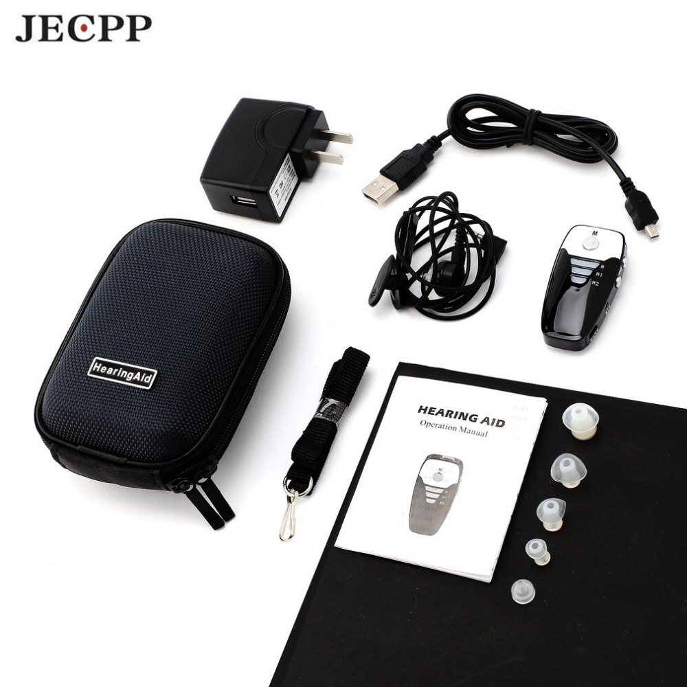Invisible In-ear Hearing Aid Sound Enhancement Digital Sound Amplifier Portable Tone Adjustable Volume Control Hearing Aids jecpp c 08 invisible in ear hearing aid sound enhancement digital sound amplifier portable tone adjustable volume control new