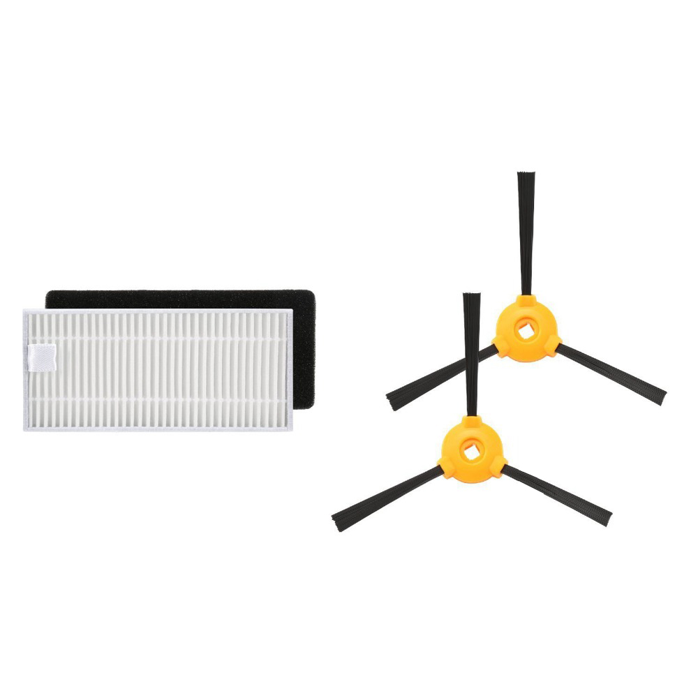 Replacement Foam Filter+Hepa Filter/Side Brush For Ecovacs Deebot N79 N79S Robotic Spare Part Accessories