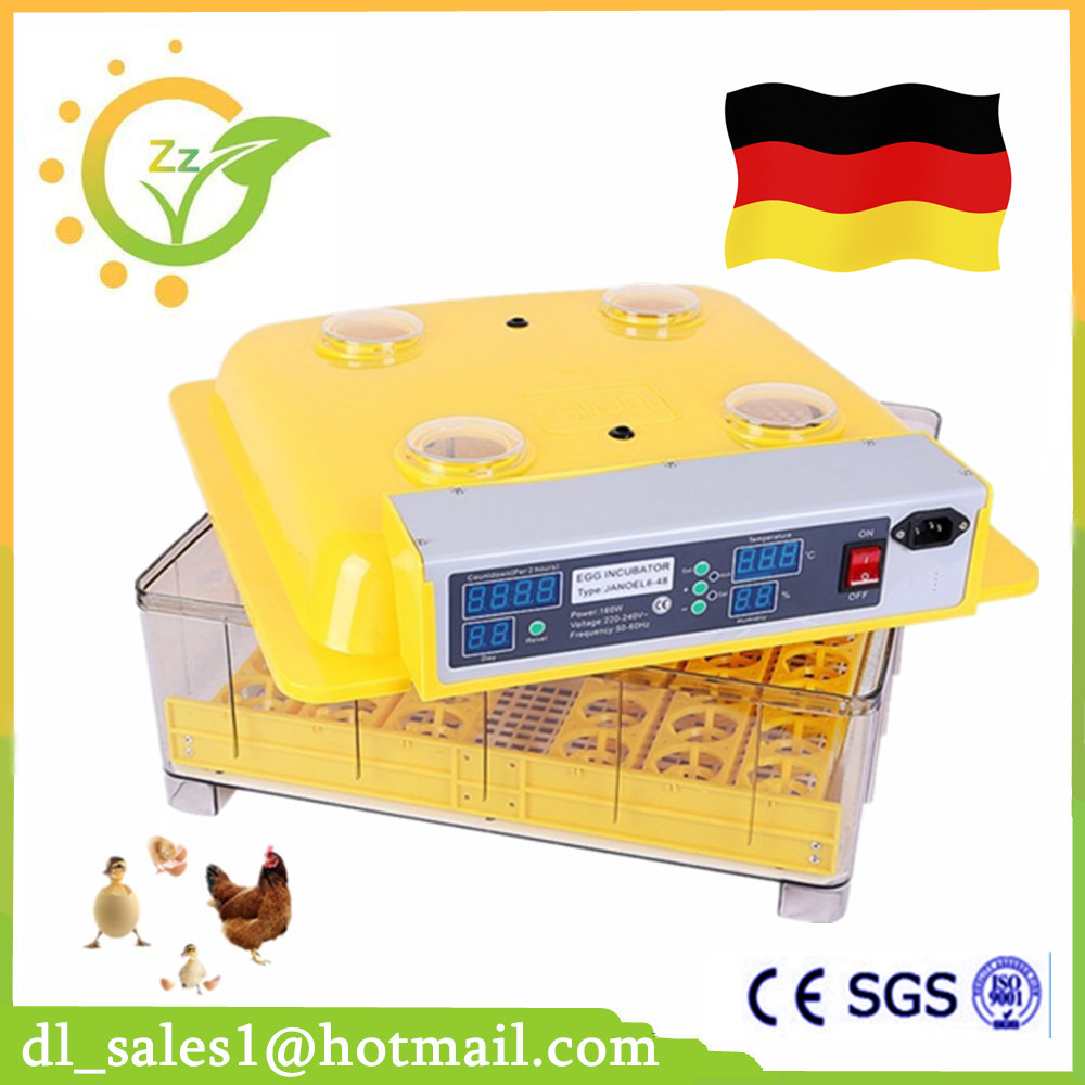 AU Free shipping Good quality JN8-48 chicken egg incubator Poultry hatcher xm 26 good quality poultry egg incubator control system