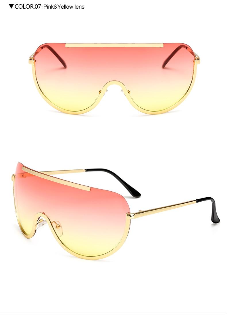 Pink Yellow Lens