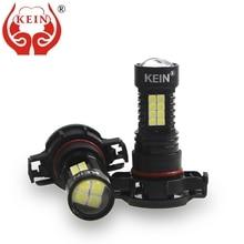 KEIN 2 шт. h16 светодиодный фонарь 3030 36SMD HD объектив Авто дневные ходовые огни, внешний днем Бег автомобиля светодиодные h16 противотуманные лампы основного хода автомобиля 12 V