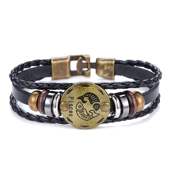 Hermosas pulseras signos zodiacales
