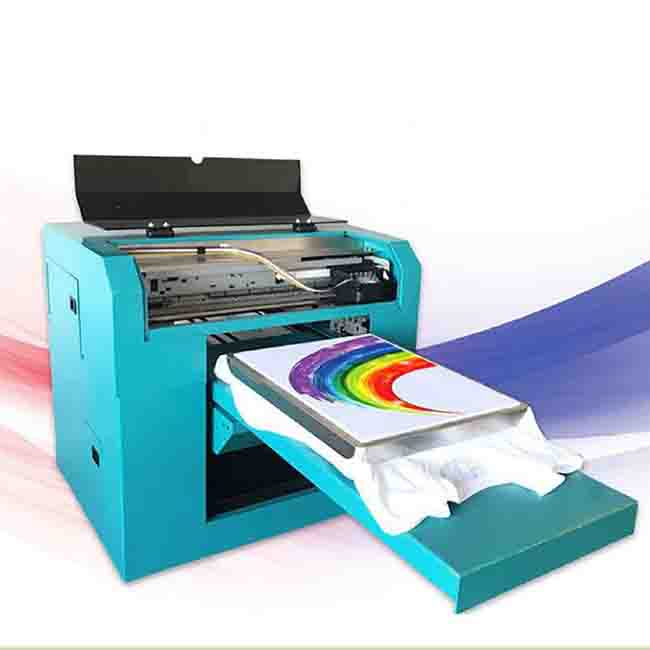 3d55a8e8f T shirt digital printer digital direct injection printing machine clothing  printing machine A3 small flatbed printer-in Tool Parts from Tools on ...