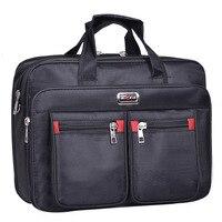 High Quality Men Messenger Oxford Bags Minimalism Tote Briefcase Mochilas Para Laptop Business Protect Computer Bag