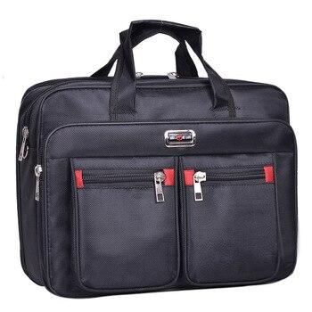 Высокое качество Для мужчин Messenger Сумка Oxford минимализм сумка, портфель Mochilas ноутбук Бизнес защиты сумка для ноутбука >>