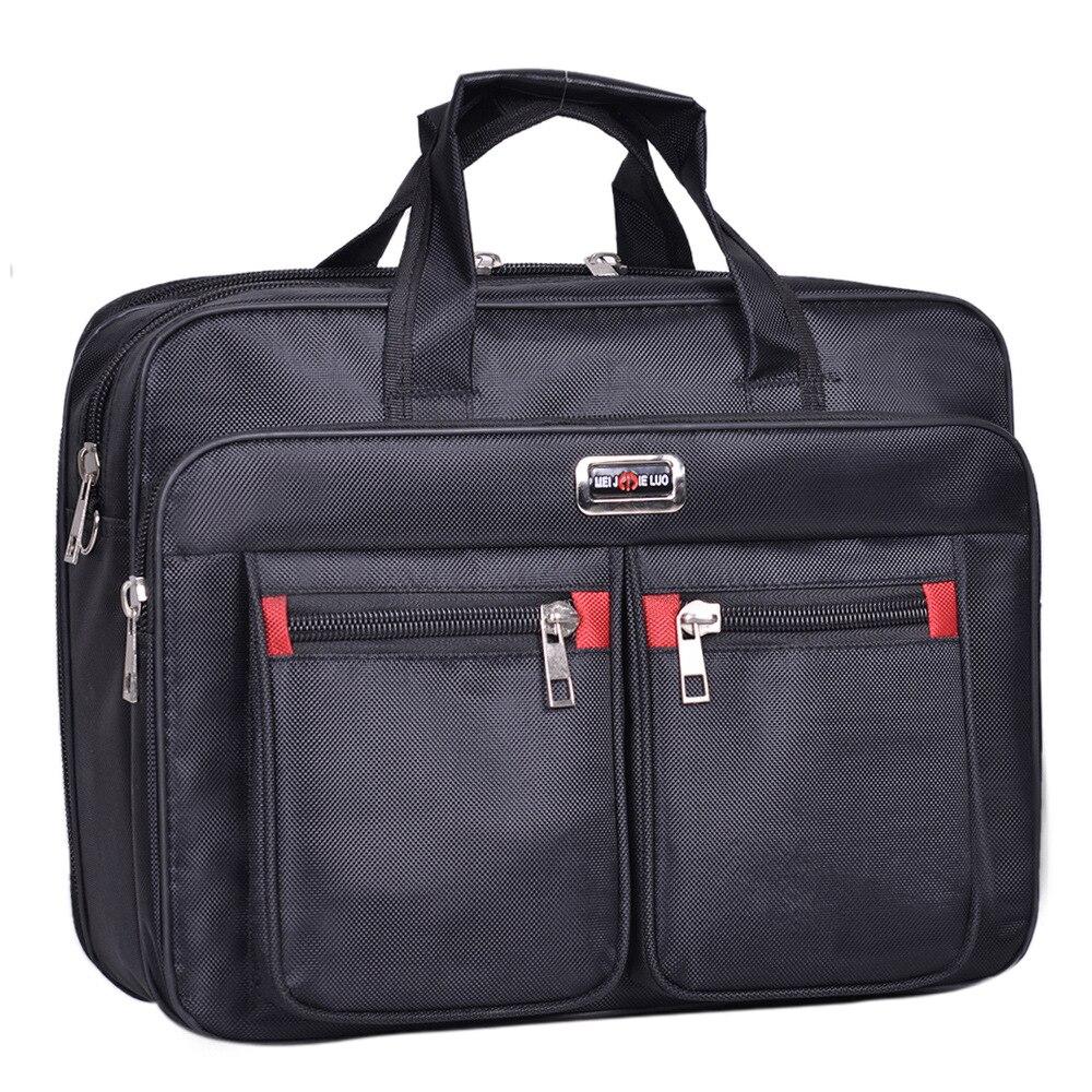 Alta qualidade homens mensageiro oxford sacos minimalismo tote maleta bolsas para computador portátil de negócios proteger computador saco