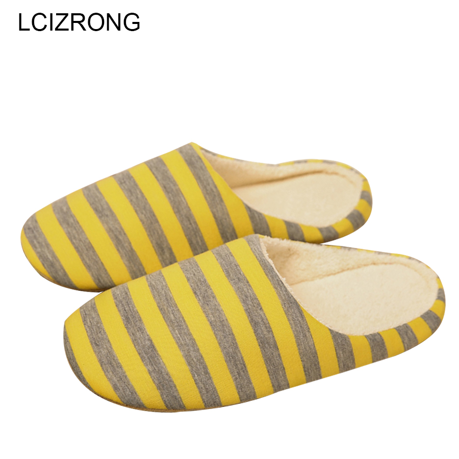 LCIZRONG Cotton Home Women Slippers Lover 5 Colors Warm Slipper Large Size Woman Indoor Plush Shoes House Lovers Cute Slippers lcizrong women brown bear plush home slippers non slip large size family animal slipper woman indoor shoes house slippers