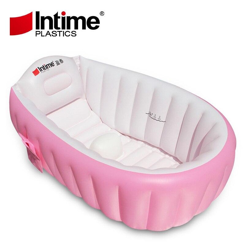 pvc spessa materiale verde di sicurezza infantile bambino vasca gonfiabile vasca da bagno antiscivolo con borse