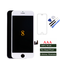 Mobymax New All Test Work Perfect LCD Display For IPhone 8 8p Touch Screen Digitizer Assembly
