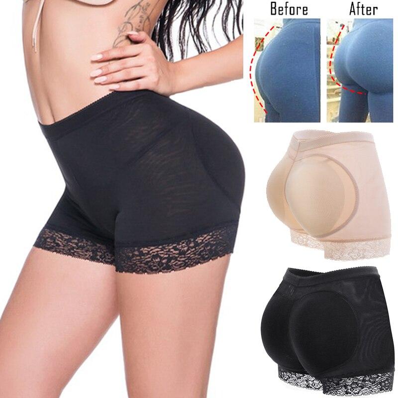 Women booty pads Panty Bum Butt Lifter Ass Big Control Panties Fake Hip Enhancer Shaper Brief Push Underwear Bottom Panty Push