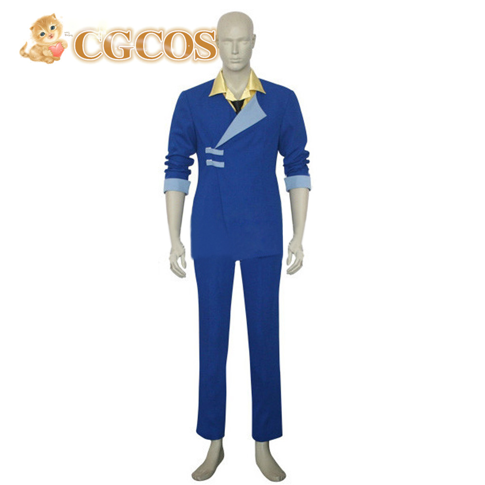 CGCOS Express! Cowboy Bebop Spike Spiegel Uniform Cosplay Costume Uniform Custom-made Halloween