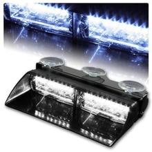 Keyecu16LED яркий сигнальная лампа Белый автомобилей Строб Даш вспышка света для интерьера крыши низкое потребление. экономии энергии. Долгий срок службы