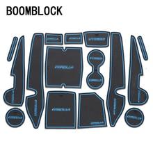 BOOMBLOCK 1set Car Interior Mat Pad Cushion For Toyota Corolla 2006-2014 2015 2017 Accessories For C-HR CHR 2017 Accessories