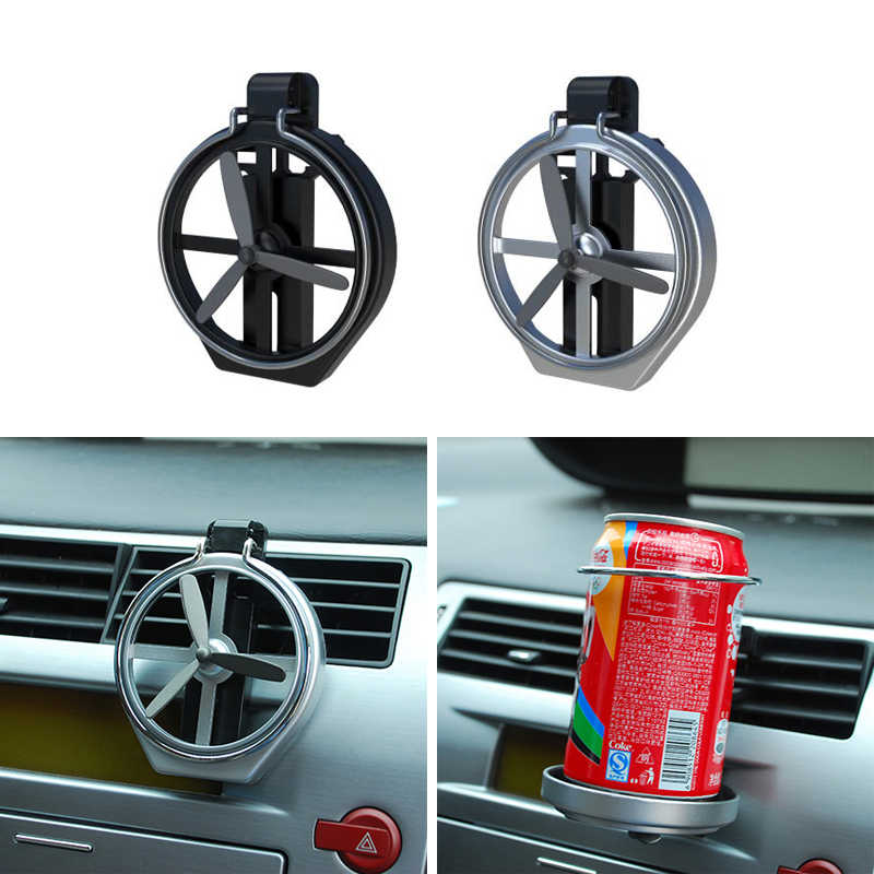 Car Air Conditioning Inlet Folding Fan Cup Holder For Skoda Superb Octavia  A7 2 Fabia Rapid Yeti Citroen C4 C5 C3 Grand Picasso