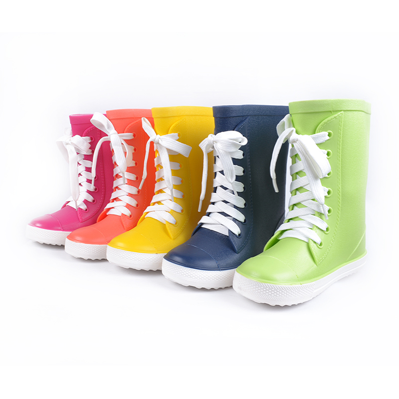 Aliexpress.com : Buy kids rain boots candy color boys girls shiny ...
