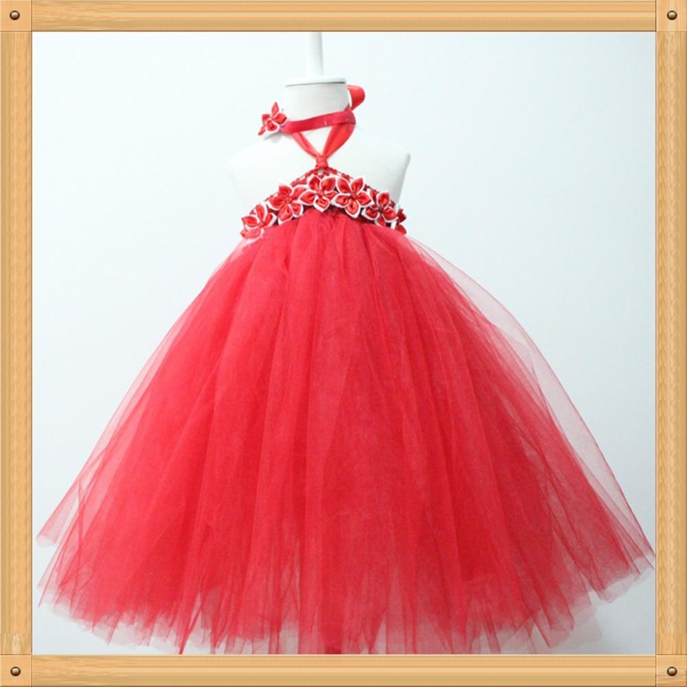 Pics photos girls party dress christmas - Online Shop Red Girls Dresses Fluffy Long Red Tutu Dress Girl Party Dress Christmas Red Tutus For Baby Kids Toddler Dress1set Free Shipping Aliexpress