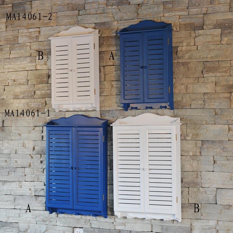 Window Wall Decor mairui en american country home fake window wall decoration series