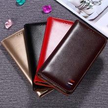 For ZTE Blade V9 V8 V7 Luxury Retro Leather Flip Cover Case for Nubia Z17 Mini V18 nubia V 9 8 7 Wallet Silicone Skin
