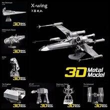 3D Metal Puzzles Model Educational Toys 3D Puzzle Jigsaw Kids Toys Assemble DIY Puzzles for Children Gift