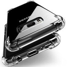 Zagter de lujo a prueba de golpes a prueba de silicona suave clara funda para Samsung Galxay S9 S8 más S7 borde A3 A5 A7 J3 J5 J7 2016 2017 A8 Plus
