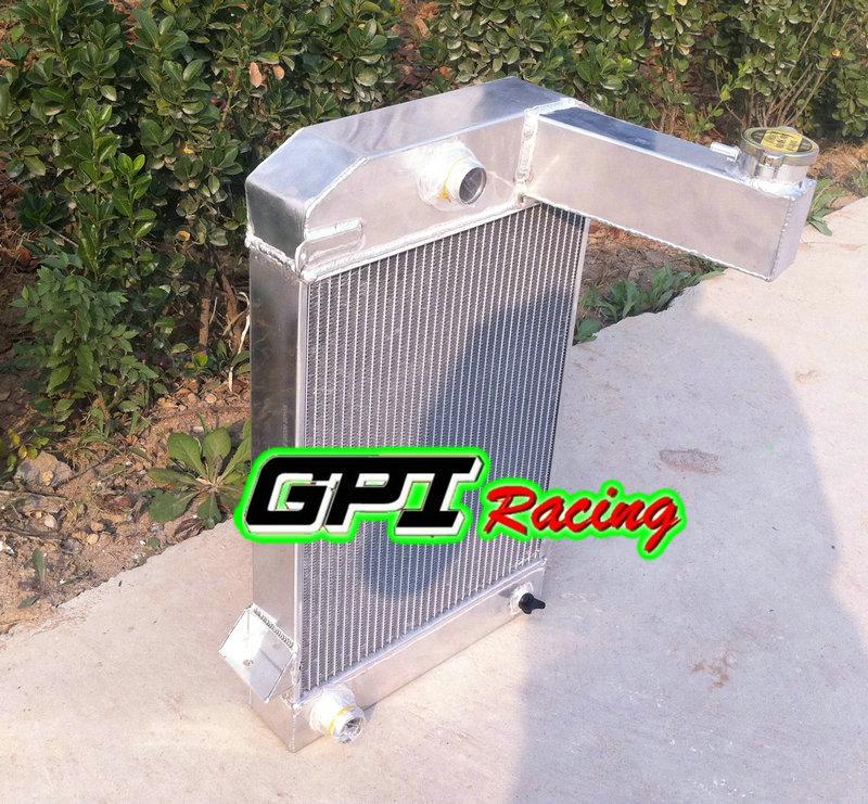 62MM 3 ROW ALUMINUM ALLOY RADIATOR for TRIUMPH TR2//TR3//TR3A//TR3B MT