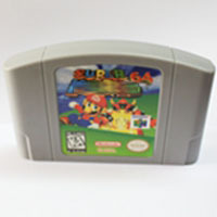 Super Marioed English Language for 64 bit USA Version Video Game Cartridge Console