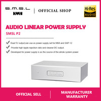 SMSL P2 Linear Power Supply Dual 5V Output Can Use As Audio Power Supply Set for SMSL M8A and SAP 12 Amplifier