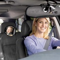 2015 espejos espejo retrovisor del coche de seguridad del bebé del coche del niño ESPEJO FÁCIL Rotación de 360 grados del coche la primera retrovisor niño