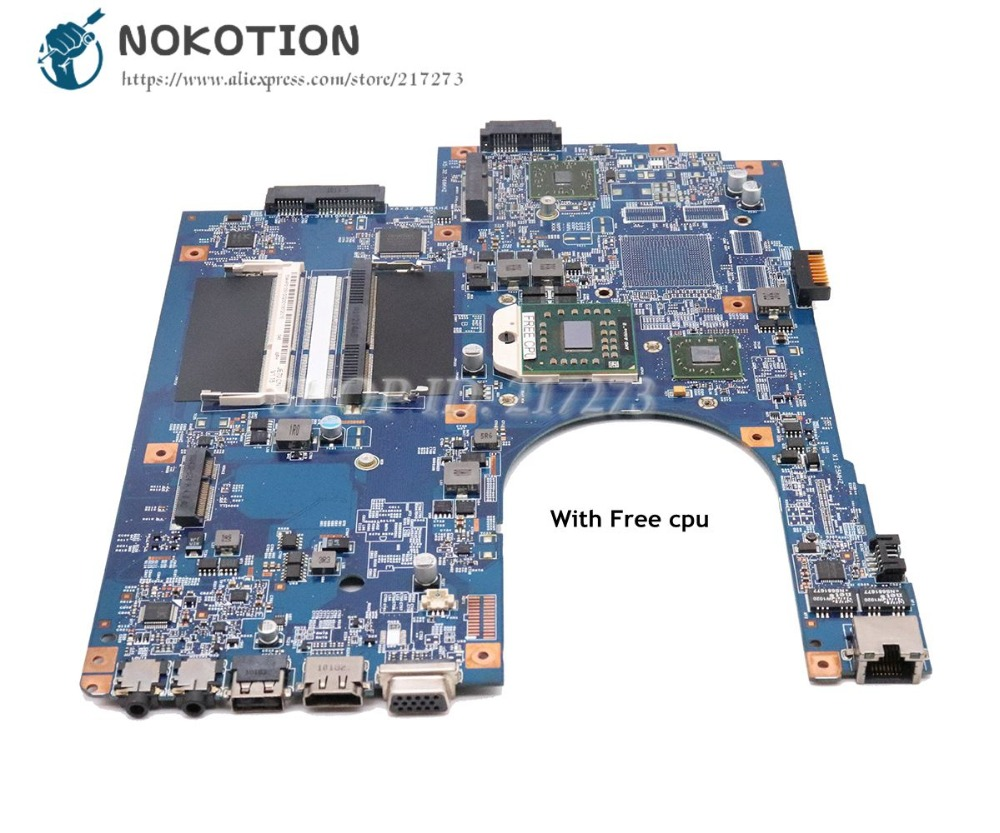NOKOTION JE70-DN 48.4HP01.011 MBPT901001 MAIN BOARD For Acer Aspire 7551 7551G PC Motherboard DDR3 Free CPU