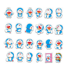 61 Pcs Kartun Doraemon Stiker Scrapbook Notebook Koper Laptop Skateboard Tas Doraemon Sticker Graffiti Pack Rumah Dekorasi(China)