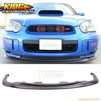 Fit for 2004 2005 Subaru Impreza WRX STI V Limited Front Bumper Lip PP Spoiler
